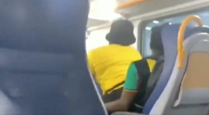 Treni: distanziamento sociale secondo i migranti – VIDEO