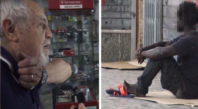"""Sbarcano e rapinano: """"Buttato a terra, preso a calci: sono i padroni"""" – VIDEO"""