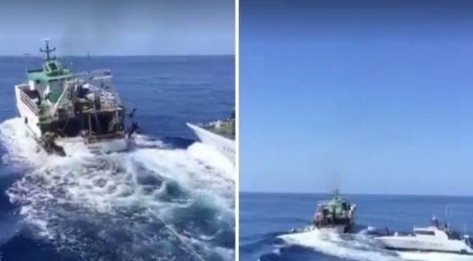 Già dissequestrato peschereccio tunisino che ha speronato GDF: toghe complici