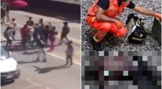 Ladro africano in fuga precipita e muore: colleghi marciano su Bolzano – VIDEO