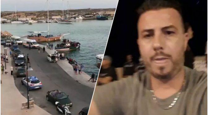 """Disperato appello da Lampedusa: """"Siamo invasi"""""""