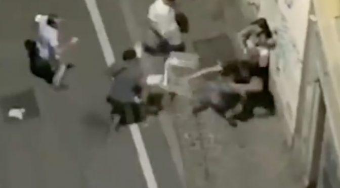 Coppia massacrata da spacciatori stranieri a Milano: «Basta! In dieci contro uno?» – VIDEO