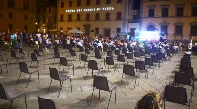 Zero possibilità di contagio: il comizio di Zingaretti è deserto
