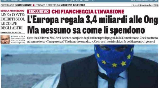 UE: usare fondi Recovery Fund per indottrinare sul razzismo