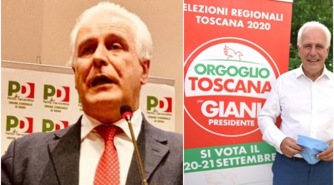 Scandalo 'ndrangheta – eletto PD in Toscana, emendamento passato con Giani presidente