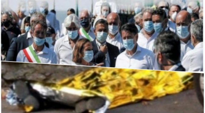 Nemmeno un ministro al funerale del prete sgozzato dal loro clandestino