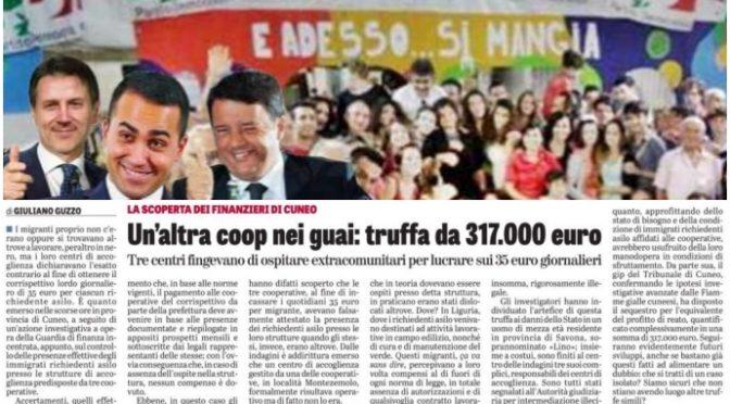 Coop, truffa sui clandestini: 300mila euro fingendo di ospitarli