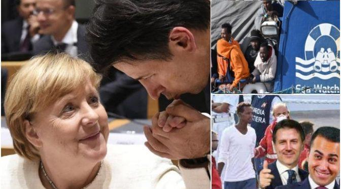 Navi tedesche hanno sbarcato 4.381 clandestini in Italia: 4.266 sono ancora qui