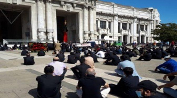 Milano, stazione occupata da islamici in nome Maometto – VIDEO
