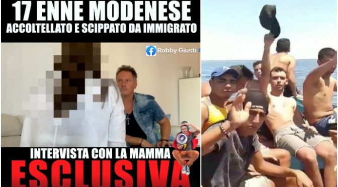 "Ragazzino italiano accoltellato da immigrati: ""Limitate le uscite di casa"" – VIDEO"