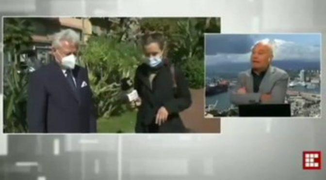 VENTIMIGLIA, SINDACO RAPINATO IN DIRETTA TV – VIDEO