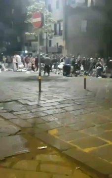 Napoli, immigrati sfottono i divieti anti-Covid di De Luca – VIDEO