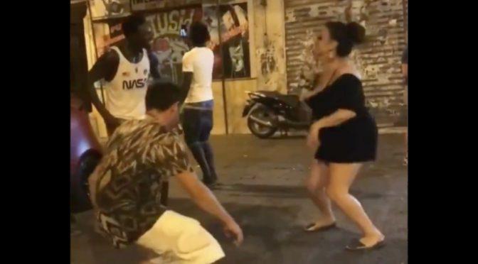 Degrado a Palermo: danze tribali in strada – VIDEO