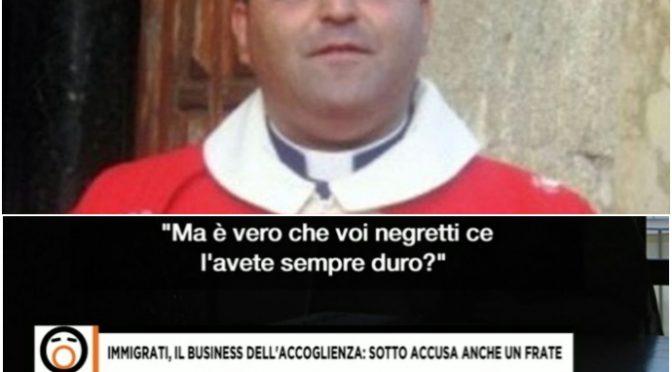 Il prete pro-migranti usava i soldi delle offerte per organizzare le orgie coi migranti