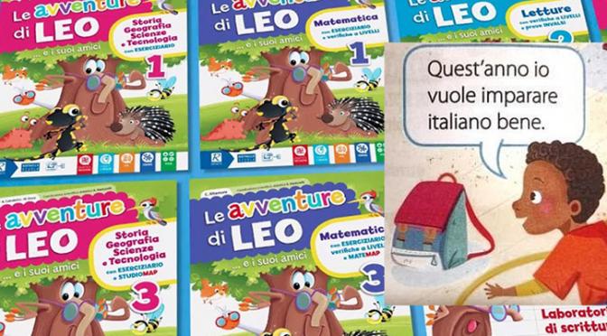"""Piccolo nero parla male l'italiano in un testo scolastico, la sinistra: """"Libro razzista"""""""