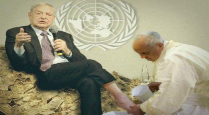 Soros si compra la Chiesa: milioni di euro ai Gesuiti