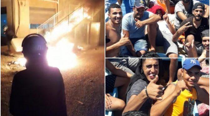 Immigrato brucia auto, pesta farmacista e sfascia volante polizia: subito scarcerato
