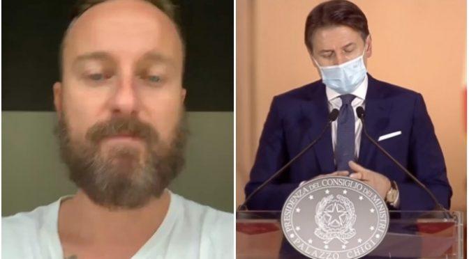 """Facchinetti contro il governo: """"Fate morire gli italiani e date la colpa a loro!"""" – VIDEO"""