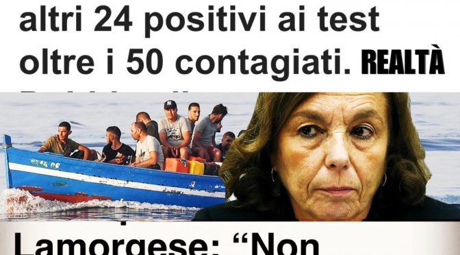 Metà sbarcati positivi al Covid: così il governo diffonde il virus in Calabria