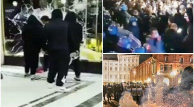 La fake news del giornale di Mentana Open sulle devastazioni di Milano e Torino