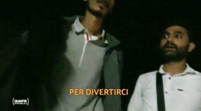 """Clandestini sbarcano in tempo per la festa di Chiara Ferragni: """"Dal Pakistan per divertirci"""" – VIDEO"""