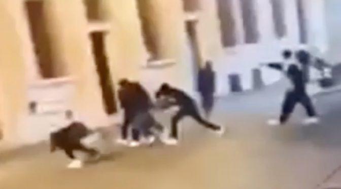 Spara ai maleducati in centro a Reggio Emilia: 3 feriti (1 grave) – VIDEO