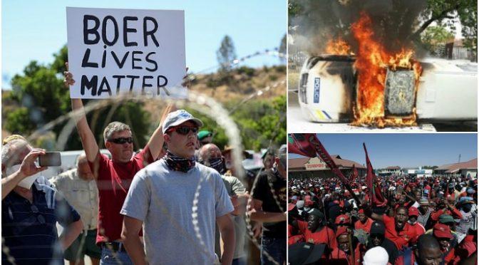 Sudafrica, boeri in rivolta contro il giogo nero: farmer bianco ucciso – VIDEO