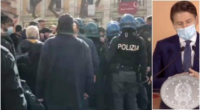 """Poliziotti avvisano Conte: """"Non riusciamo a fermare rivolta"""""""