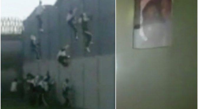 Così i tunisini hanno distrutto il centro di accoglienza – VIDEO