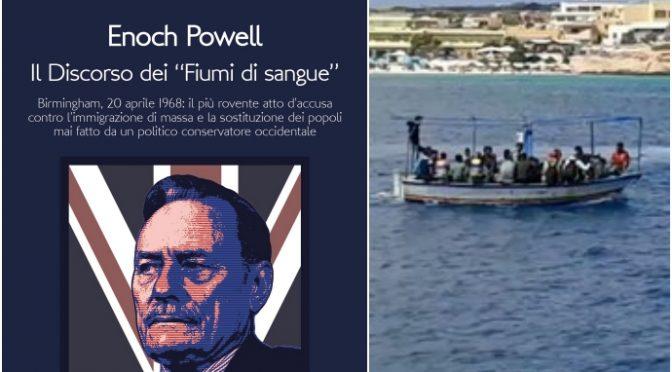 """Enoch Powell, Il Discorso dei """"Fiumi di sangue"""" edito in Italia"""