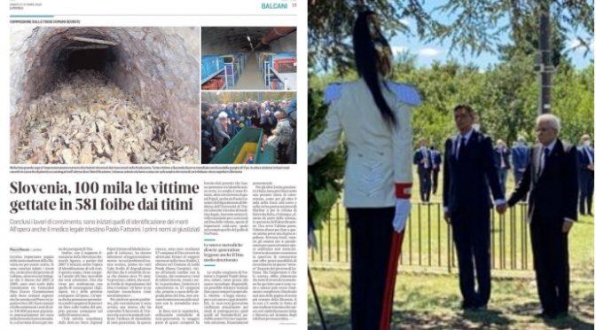 Esuli istriani chiedono ad Augias di rinunciare anche a riconoscimento dato a Tito