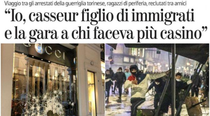 """Immigrati rivendicano devastazioni: """"Gara a chi faceva più casino"""""""