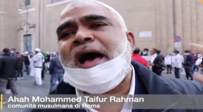 """Leader islamico a Roma giustifica Nizza: """"Se fedeli si arrabbiano succedono tante cose"""" – VIDEO CHOC"""