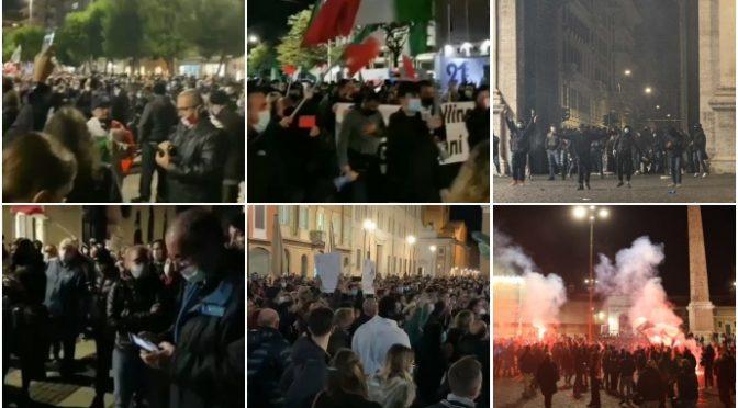 Governo ha dato ordine di caricare i manifestanti per provocare disordini: picchiati ragazzini e anziani – VIDEO