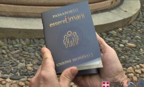 Disitribuito in scuole 'passaporto essere umani' dell'Unione Mondiale