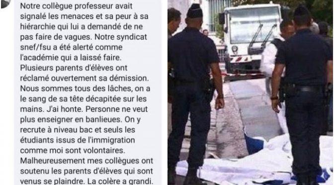 Prof decapitato, azione organizzata da genitori islamici: 9 arresti