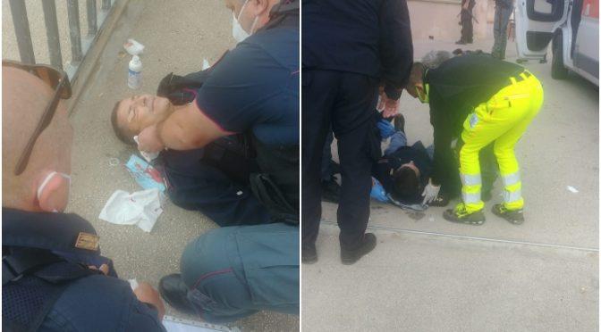 """Poliziotto ridotto così da immigrati positivi in fuga: """"Vogliono il morto"""" – FOTO"""