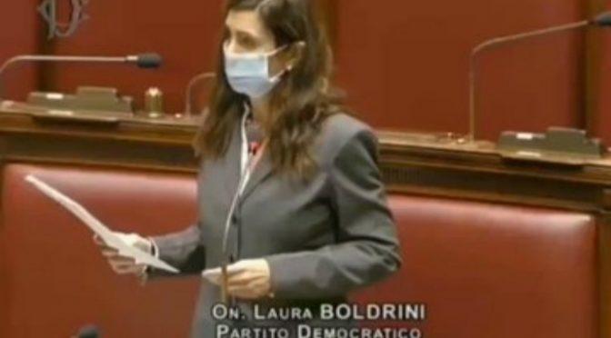 """Escort, Boldrini non condanna del tutto Friedman: """"Inciampato sulla lingua.."""""""