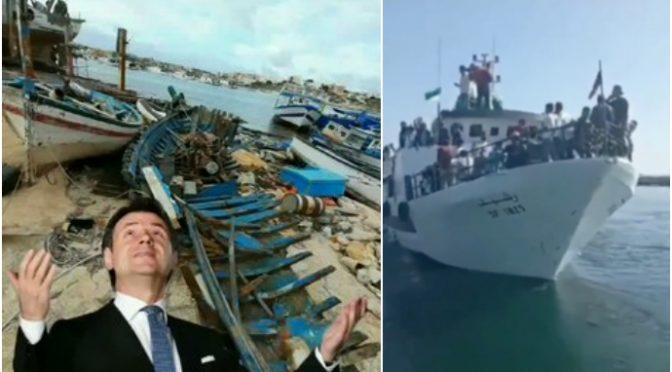 Immigrati bomba ambientale a Lampedusa