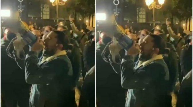Rivolta non si ferma: cittadini in marcia contro il lockdown – VIDEO