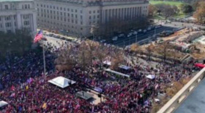 Migliaia marciano su Washington contro i brogli: partecipazione massiccia – DIRETTA VIDEO