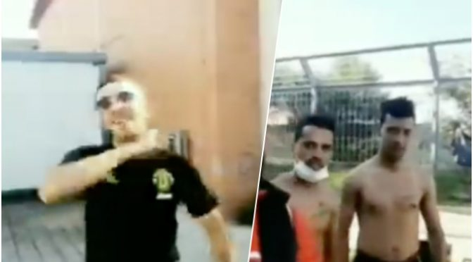 """Immigrati appena sbarcati minacciano di tagliarci la gola, PD li difende: """"E' solo un video"""""""