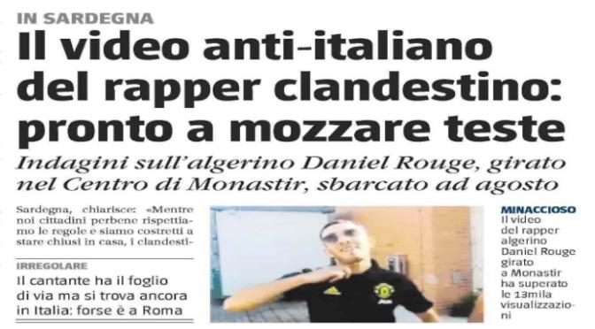 CLANDESTINO MINACCIA GLI ITALIANI APPENA SBARCATO: VI MOZZEREMO LA TESTA