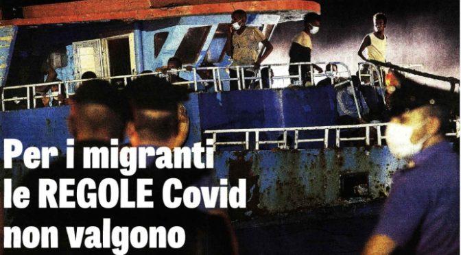 Non ce n'è Covid per i clandestini: festa a bordo peschereccio diretto in Italia – VIDEO