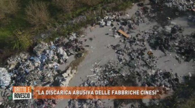 La discarica abusiva delle fabbriche cinesi, in Italia – VIDEO