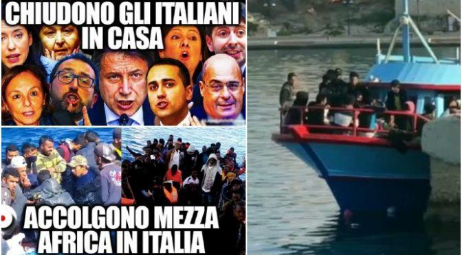 Assalto all'Italia: Ong, navi private e barconi scaricano più di 500 clandestini in 24 ore