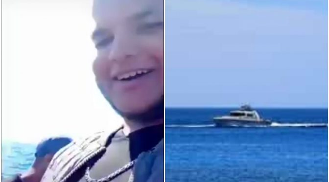 Motovedetta intercetta clandestini e li porta a Lampedusa esultanti – VIDEO