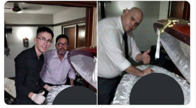 Maradona, selfie col morto per tre dipendenti pompe funebri
