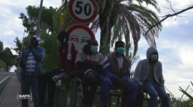 Ventimiglia, immigrati a caccia di italiani: coltellate contro mamma e bimbo