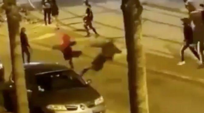IMMIGRATI MASSACRANO IL PADRE CHE RIVOLEVA INDIETRO LA MOTO RUBATA DEL FIGLIO – VIDEO